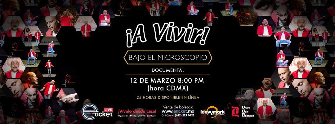 ¡A VIVIR! BAJO EL MICROSCOPIO CON ODIN DUPEYRON