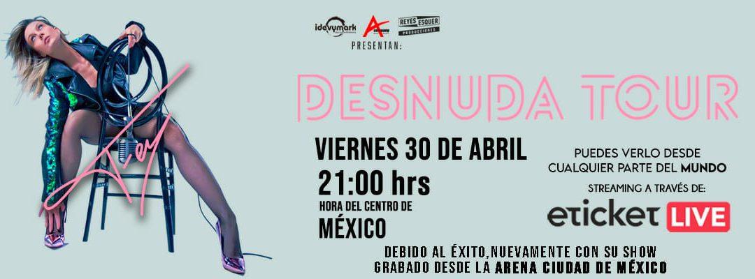 FEY «DESNUDA TOUR»